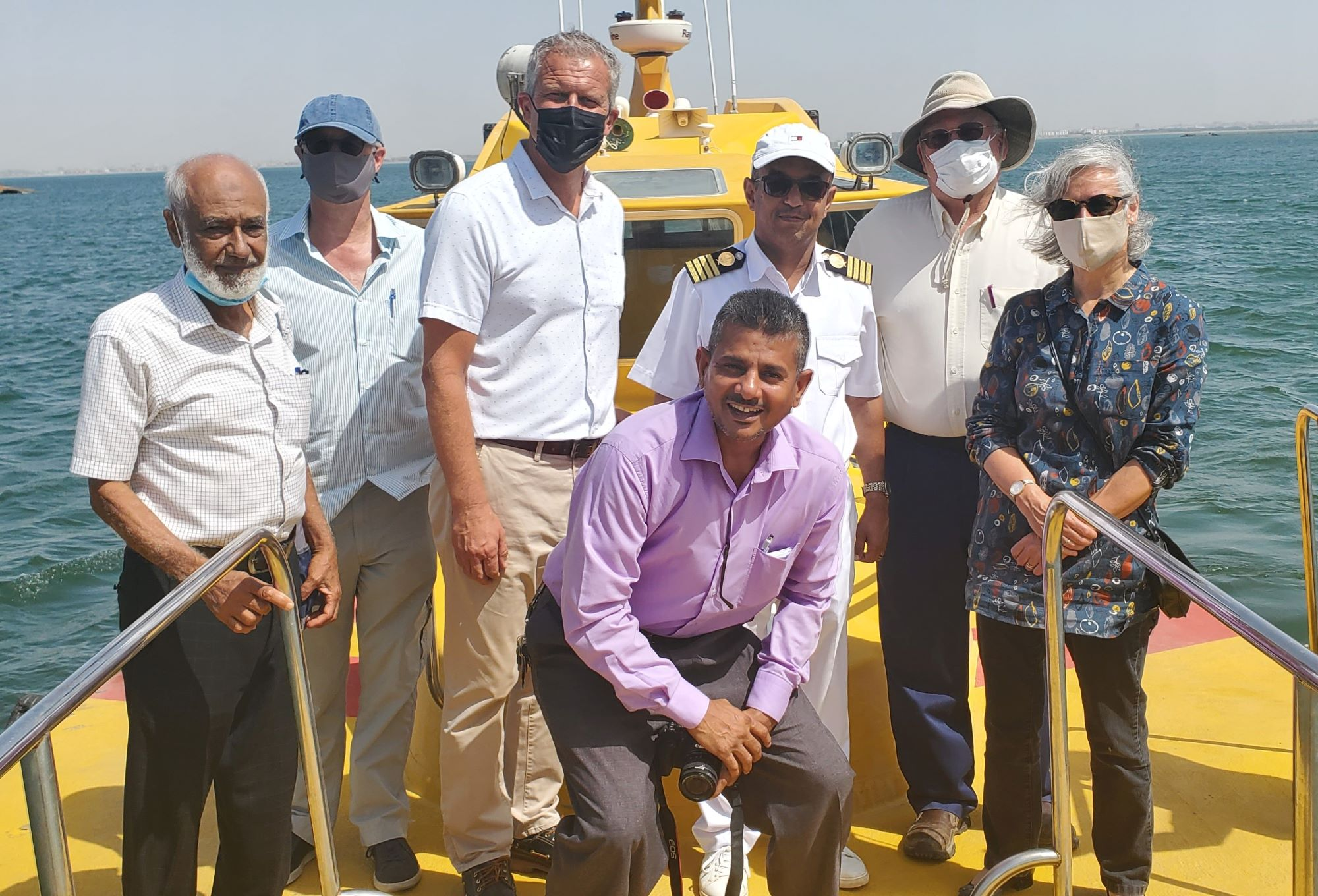 In 1885 started its activities in Aden Port .. The Mission to Seafarers Visits the Port